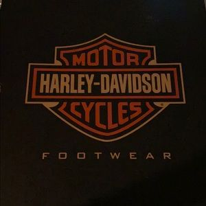 Men's Harley Davidson Black Boot Size 10 1/2